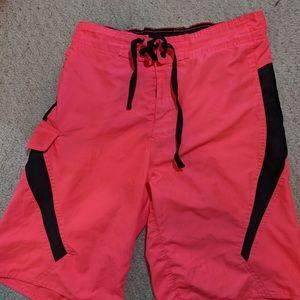 US apparel hot pink shorts
